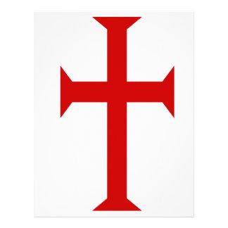 ¡Sea un caballero Templar! Plantillas De Membrete