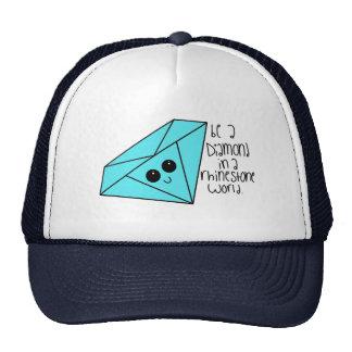 Sea un gorra del diamante