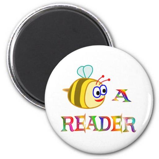 Sea un lector imán redondo 5 cm