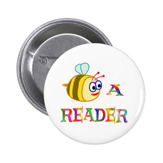 Sea un lector pin