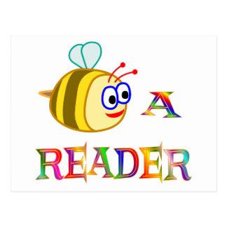 Sea un lector postales