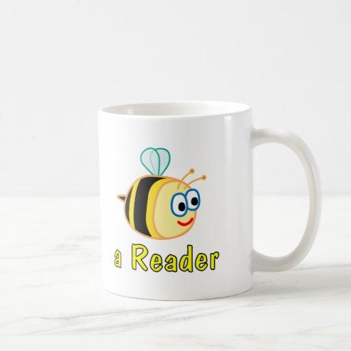 Sea un lector taza