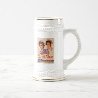 Sea un poster de la guerra del vintage de la enfer tazas de café
