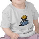 Sea un trabajador camiseta