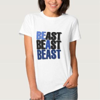 Sea una bestia playeras