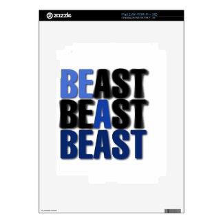 Sea una bestia skin para el iPad 2