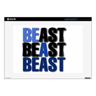 Sea una bestia skins para 38,1cm portátiles