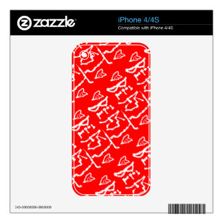 Sea una bestia skins para iPhone 4