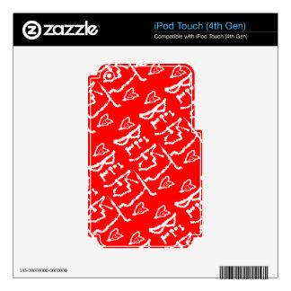 Sea una bestia skins para iPod touch 4G