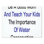 Sea una buena mamá y enseñe sus niños a la anuncios
