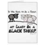 Sea una oveja negra 2 tarjetas