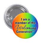 Sea una parte de la generación que da la bienvenid pin