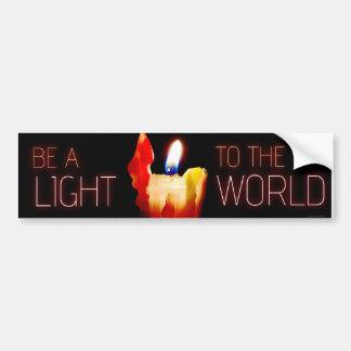 Sea una pegatina para el parachoques Luz-Inspirada Pegatina Para Auto