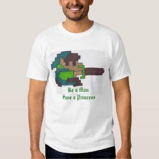 Sea una reserva del hombre a la princesa camisas