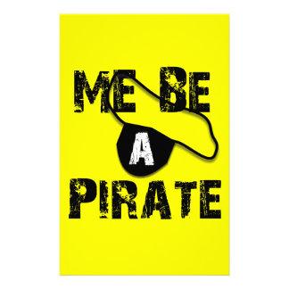 Sea una ropa y regalos del pirata papelería personalizada