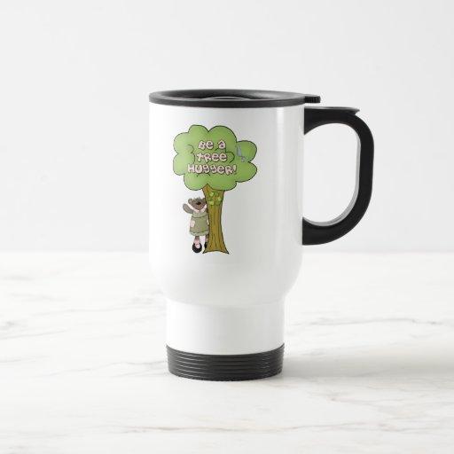 Sea una taza de Hugger del árbol