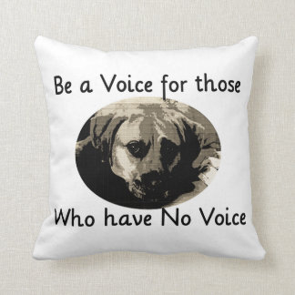 Sea una voz cojin