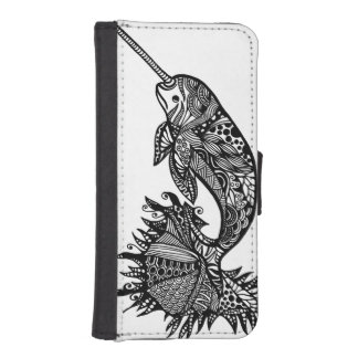 Sea Unicorn iPhone wallet case Phone Wallets
