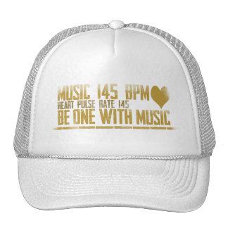 Sea uno con el gorra de la música