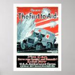 Sea uno del primer a ayudar (US00268) Poster
