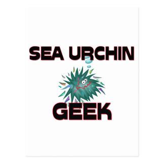 Sea Urchin Geek Post Card