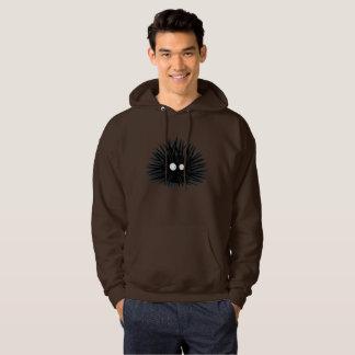 Sea Urchin Uni Spiny Black Hedgehog Ocean Hoodie