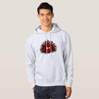 Sea Urchin Uni Spiny Red Hedgehog Ocean Hoodie