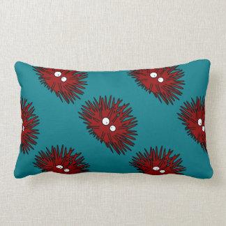 Sea Urchin Uni Spiny Red Hedgehog Ocean Lumbar Pillow
