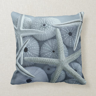 Sea urchins and starfish pillow