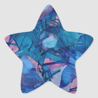 Sea Urchins Products Star Sticker