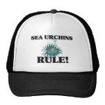 SEA URCHINS Rule! Mesh Hats