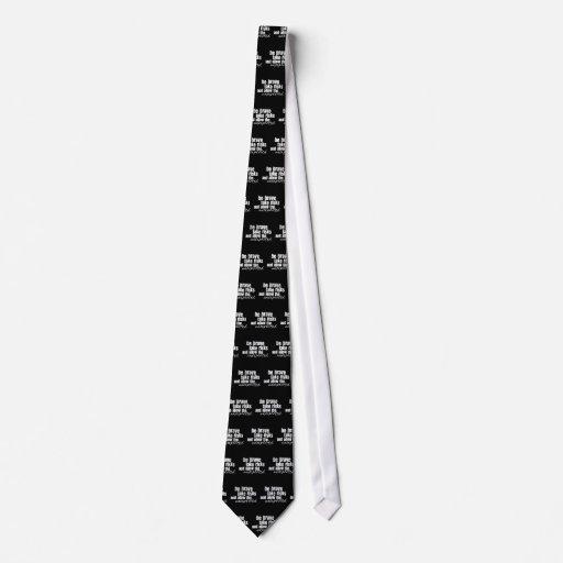 Sea valiente toman riesgos corbata personalizada