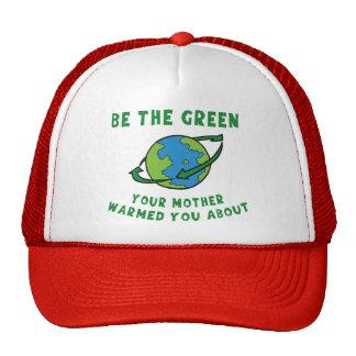 Sea verde gorra