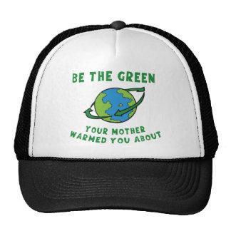 Sea verde gorro