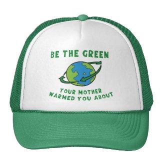 Sea verde gorro de camionero