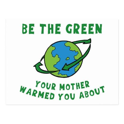 Sea verde tarjetas postales