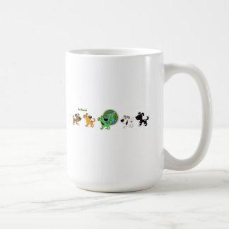 Sea verde taza de café