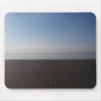Sea view (Barcelona) Mouse Pad