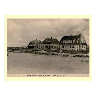 Sea View, Fire Island, New York Vintage Postcard