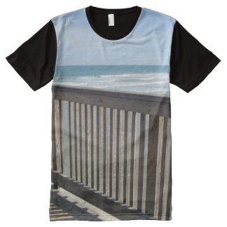 Sea View from Pier All-Over Print T-shirt