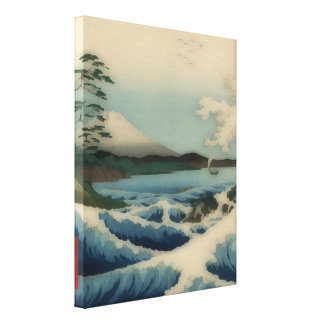 Sea view from Satta Point Canvas Print