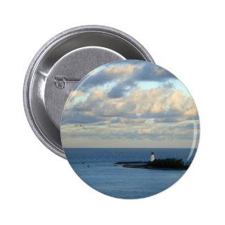 Sea View II 2 Inch Round Button