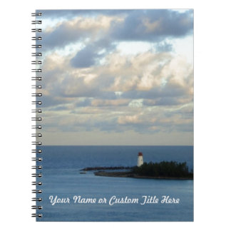 Sea View II Personalized Notebook