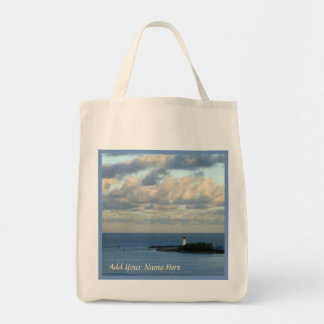Sea View II Personalized Tote Bag