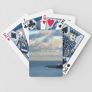 Sea View II Bicycle Playing Cards
