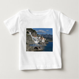 Sea view of village Atrani Baby T-Shirt