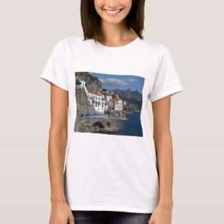 Sea view of village Atrani T-Shirt