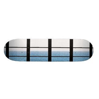 Sea view skateboard