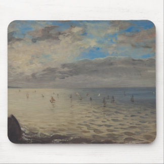 Sea Viewed from the Heights of Dieppe Mouse Pad