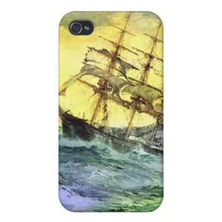 Sea voyage covers for iPhone 4